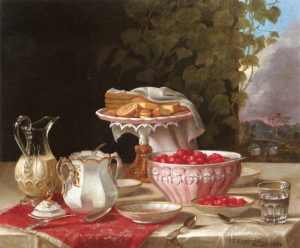 Strawberries and Cakes - John F Francis