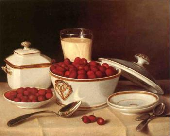 Strawberries and Cream - John F Francis