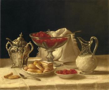 Strawberries, Cakes and Cream - John F Francis