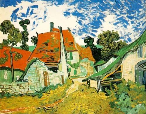 Street in Auvers - Vincent van Gogh