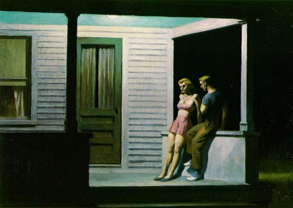 Summer Evening - Edward Hopper