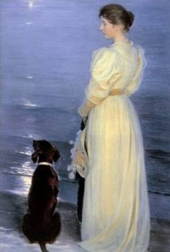 Summer Evening Near Skagen - Peter Severin Kroyer