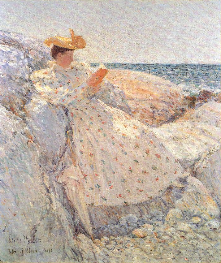 Summer Sunlight - Childe Hassam
