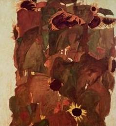Sunflowers - Egon Schiele