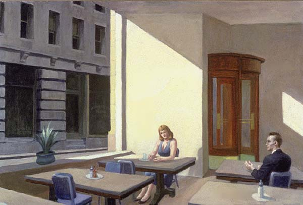 Sunlight in a Cafeteria - Edward Hopper