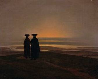 Sunset - Caspar David Friedrich