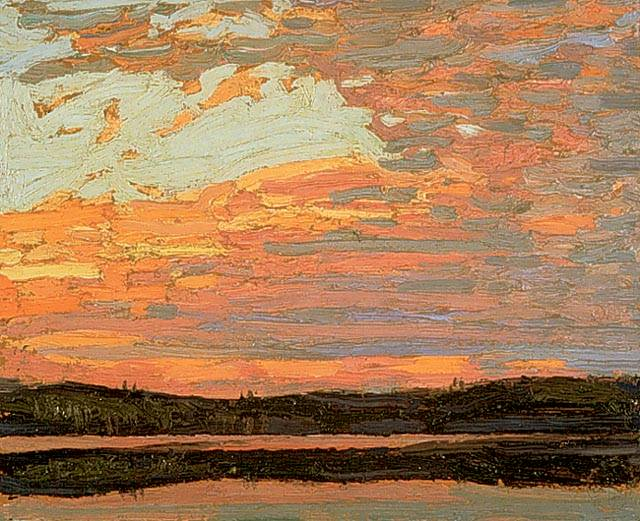 Sunset Sky - Tom Thomson