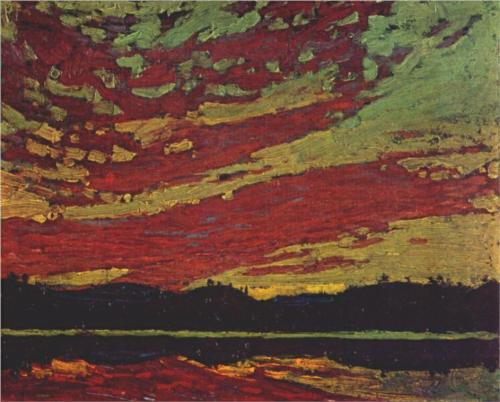 Sunset - Tom Thomson