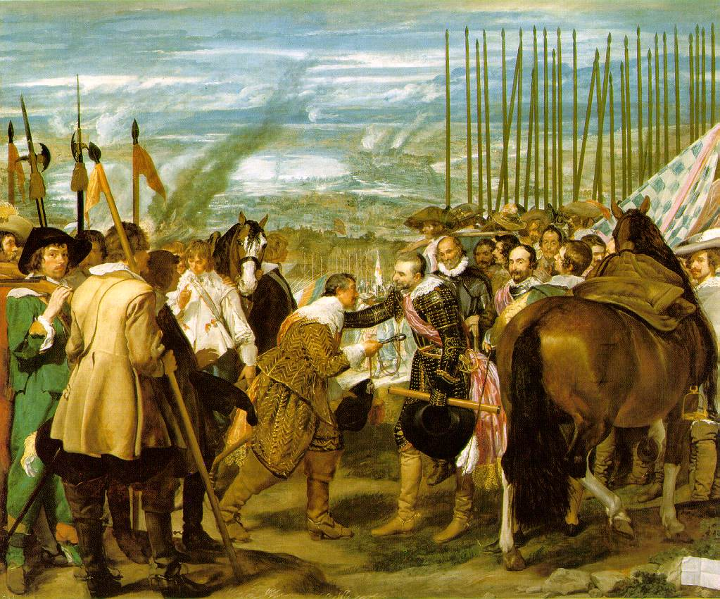 Surrender of Breda - Diego Velazquez