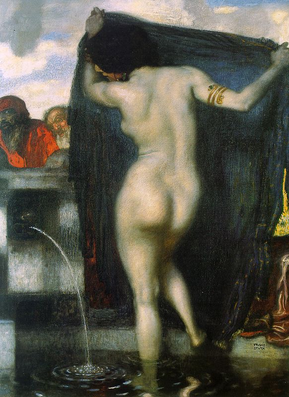 Susanna Bathing - Franz Von Stuck