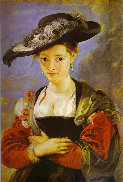 Susanne Fourment - Peter Paul Rubens