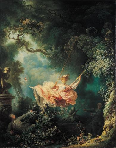 The Swing - Jean Honore Fragonard