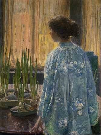 Table Garden - Childe Hassam