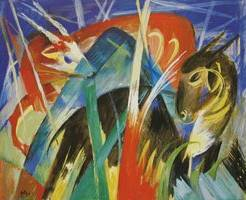 Tale-Animals I - Franz Marc