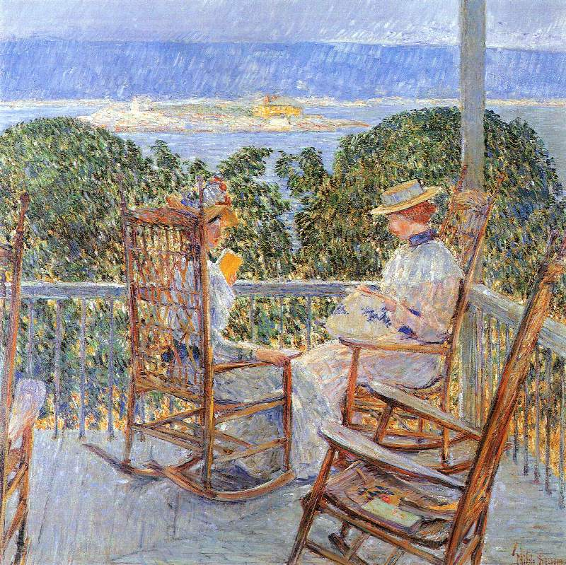 Ten Pound Island - Childe Hassam