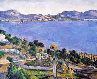 The Bay of Marseilles - Paul Cezanne