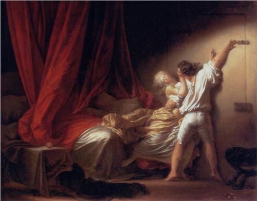 The Bolt - Jean Honore Fragonard