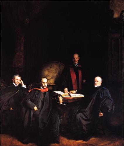 The Four Doctors - John Singer Sargent