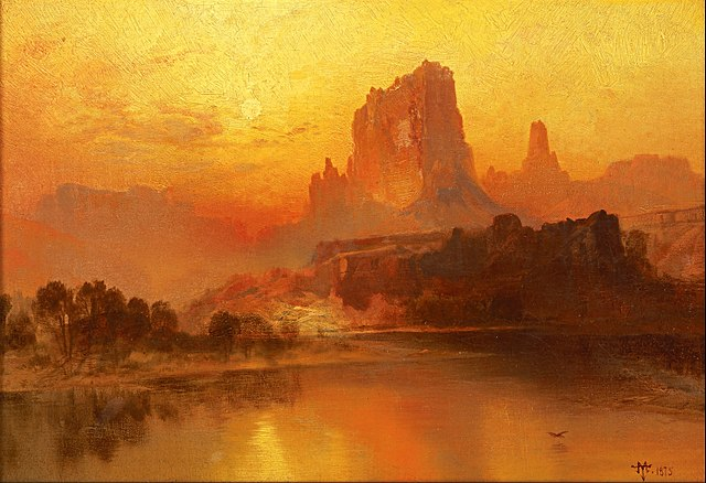 The Golden Hour - Thomas Moran