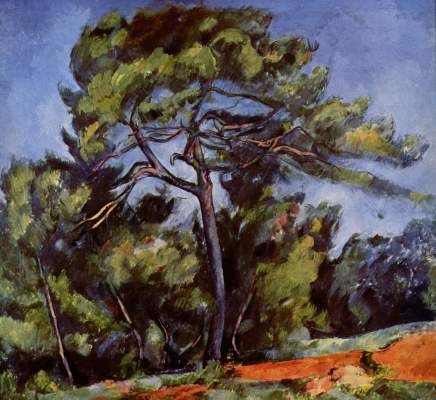 The Great Pine - Paul Cezanne