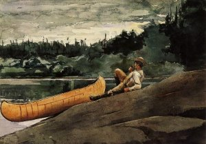 The Guide - Winslow Homer