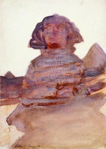 The Sphinx - John Singer Sargent