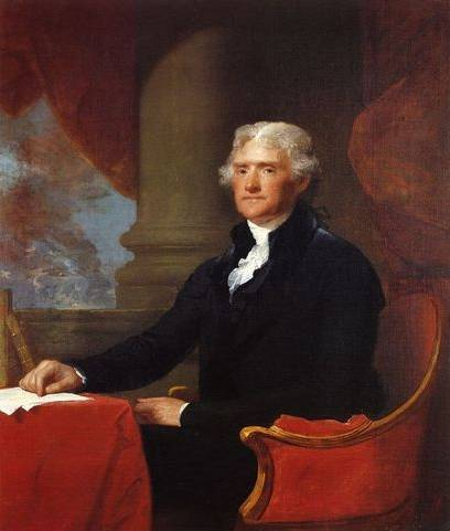 Thomas Jefferson - Gilbert Stuart