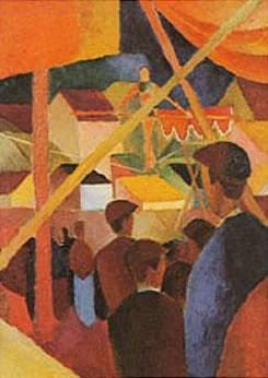 Tightrope Walker - August Macke