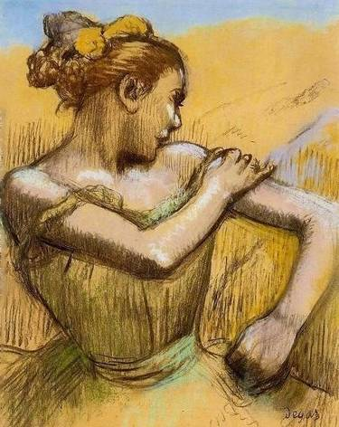 Torso of a Dancer - Edgar Degas