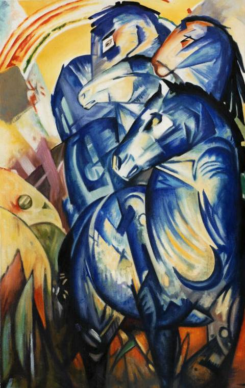 Tower of Blue Horses - Franz Marc