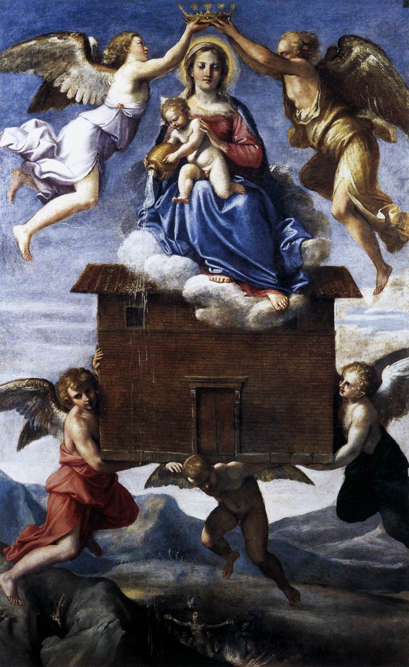 Translation of the Holy House - Annibale Carracci