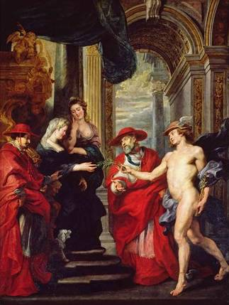 Treaty of Angouleme - Peter Paul Rubens