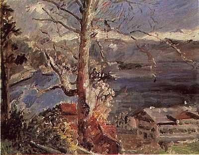 Tree At Walchensee - Lovis Corinth