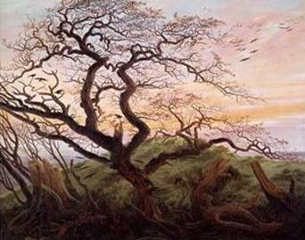 Tree of Crows - Caspar David Friedrich
