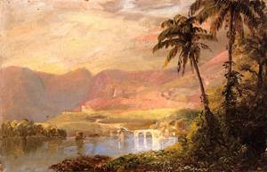 Tropical Landscape - Frederic Edwin Church