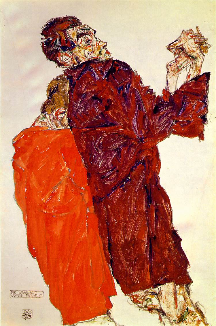 Truth Unveiled - Egon Schiele