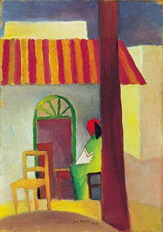 Turkish Cafe 1914 - August Macke
