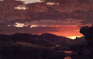 Twilight 1850 - Frederic Edwin Church