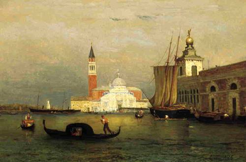 Twilight in Venice - George Inness