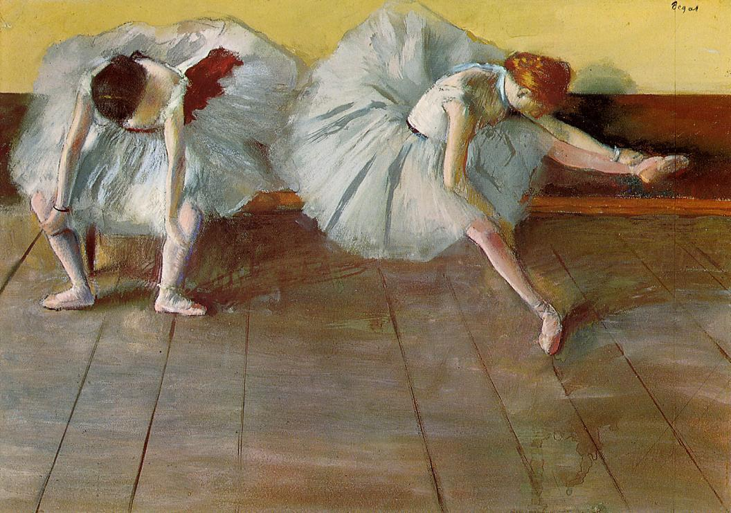 Two Ballet Dancers - Edgar Degas