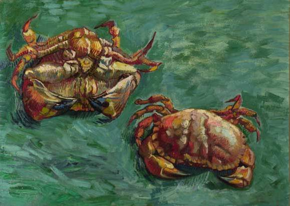 Two Crabs - Vincent Van Gogh