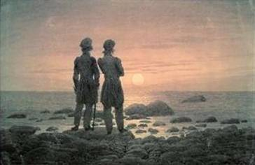 Two Men by the Sea - Caspar David Friedrich