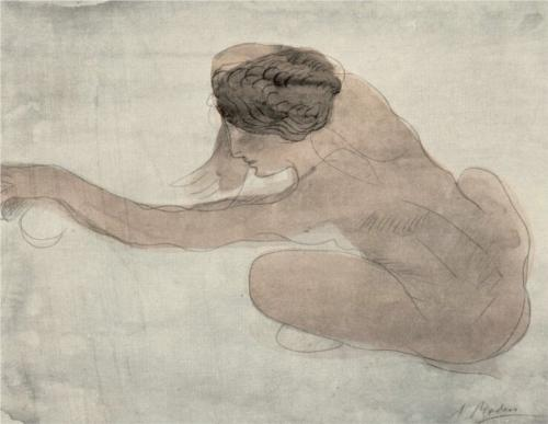 Untitled I - Auguste Rodin