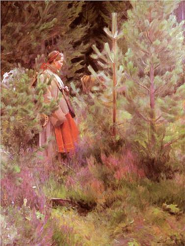 Vallkulla (Walk) - Anders Zorn
