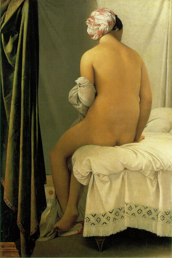 Valpincon Bather - Jean Auguste Dominique Ingres
