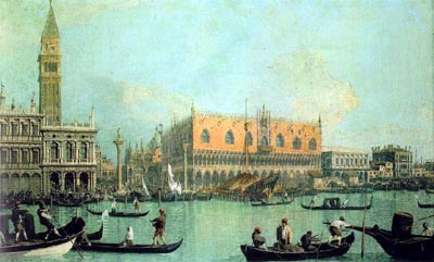 Venice: The Feast Day of St Roch - Canaletto