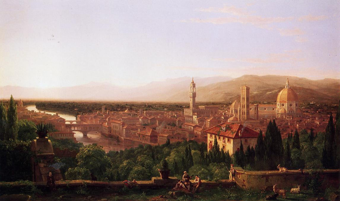 View of Florence - Thomas Cole
