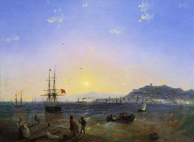 View of Kerch - Ivan Aivazovsky
