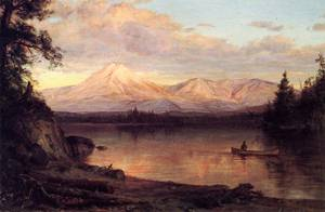 View of Mount Katahdin - Frederic Edwin Church