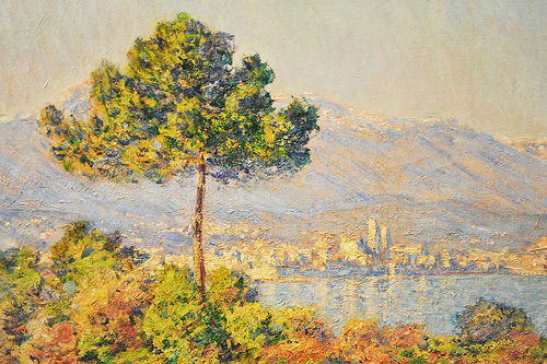 View of Plateau Notre-Dame (Antibes) - Claude Monet